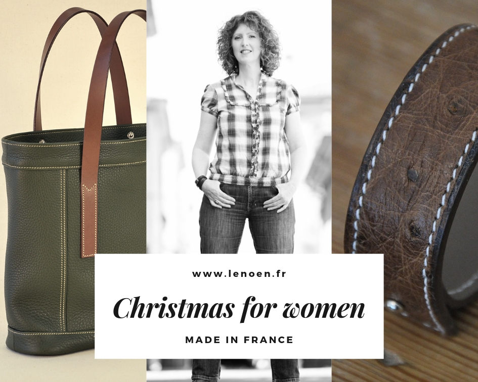 Leathergoods accessories for Christmas, man and woman. 100% Made in France