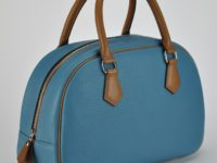 Bag for woman in leather bulcalf, fashion with a vintage style. Made in France by LE NOËN