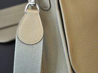 Luxury savoir-faire, bag design by famous leather goods in France. LE NOËN